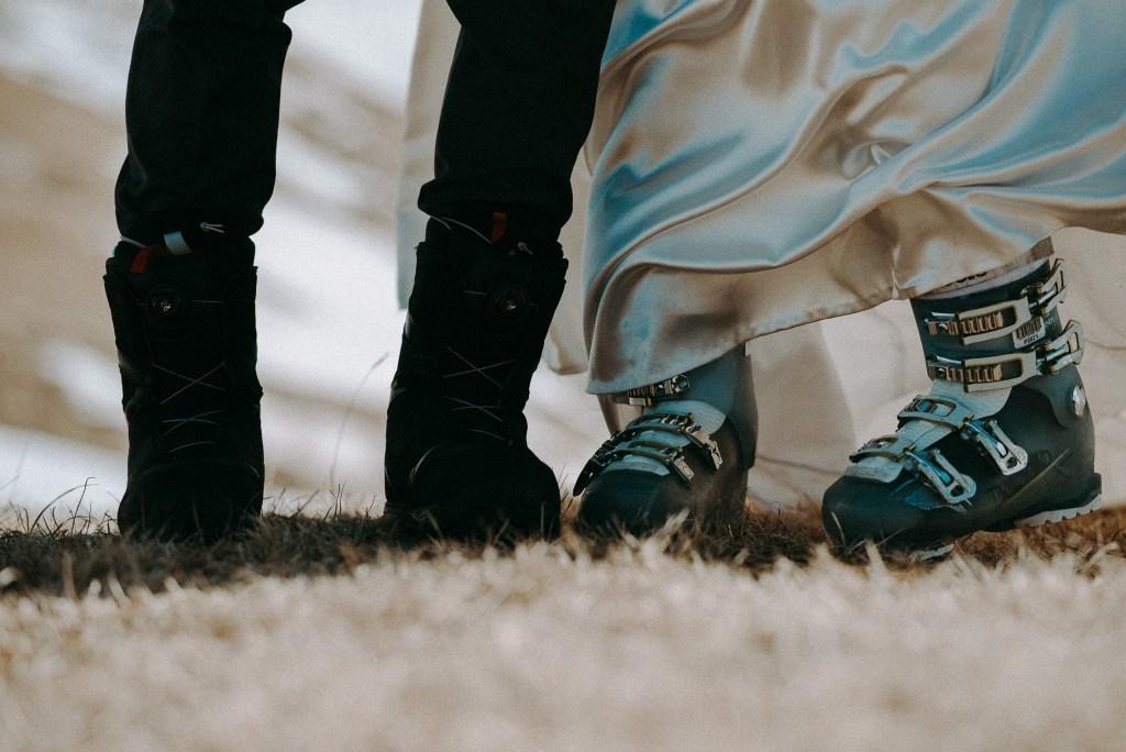 Sposi Con Scarponi da Sci - Come Scegliere Gli Abiti Da Spose E Sposi