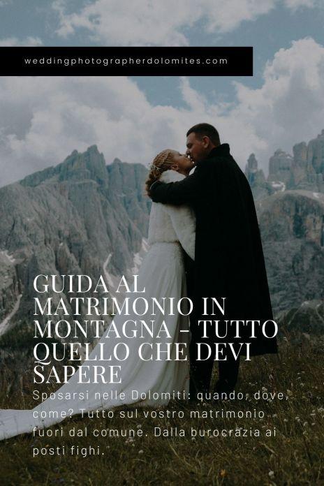 Guida Al Matrimonio In Montagna - Tutto Quello Che Devi Sapere
