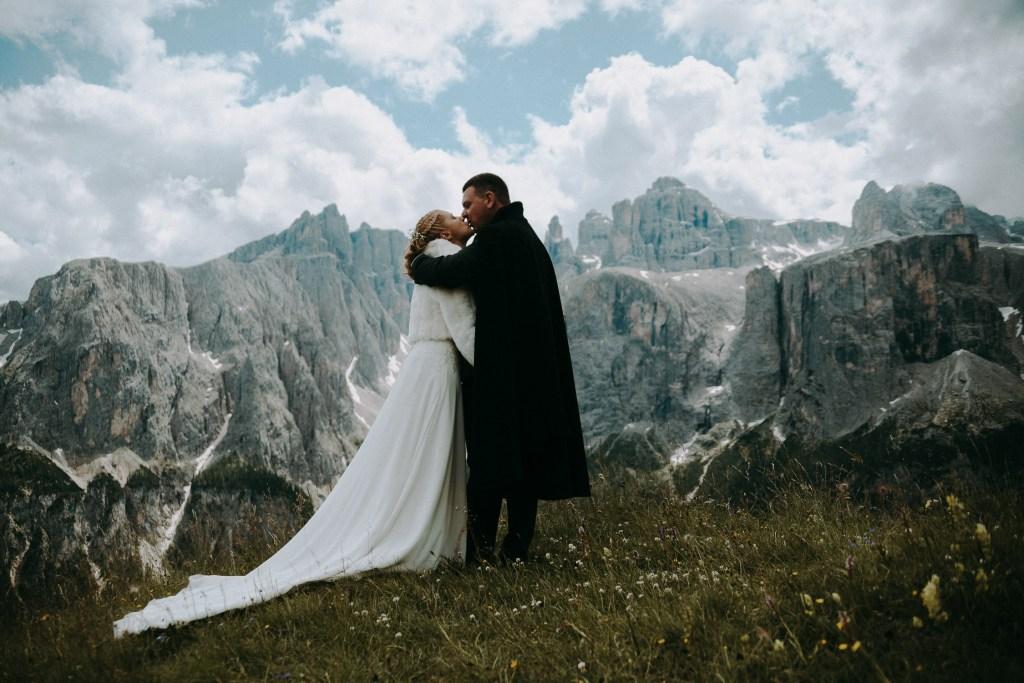 Hochzeit in Den Bergen Südtirols