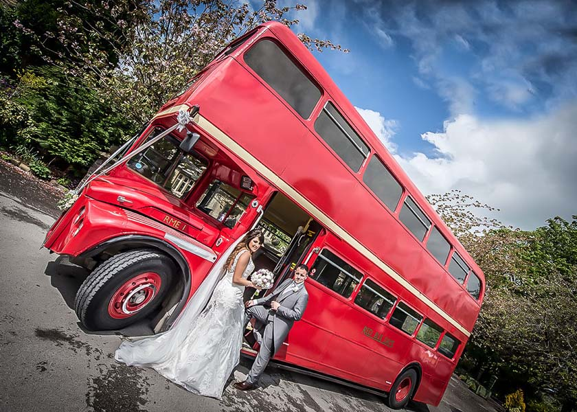 Bus at Stirk House Hotel