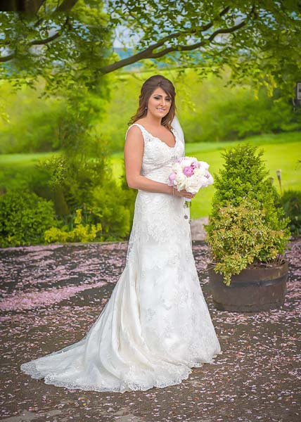 Beautiful Bride at Stirk House Hotel