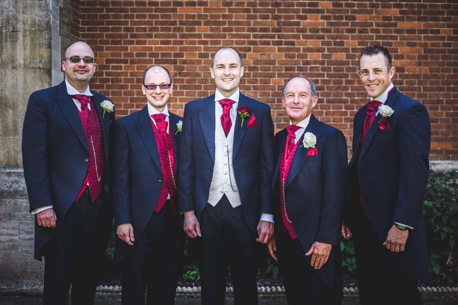 Groom & Best Man Wedding In Sevenoaks