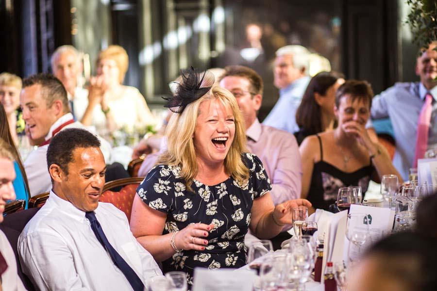 wedding speech laughs