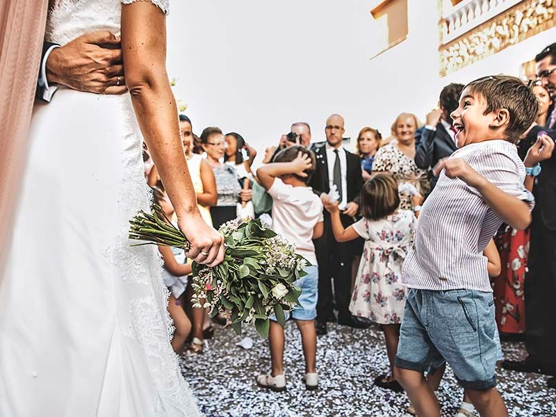 0b70a2208a Photo Of The Day: A Cheeky Little Boy & A Fun Wedding Day Moment