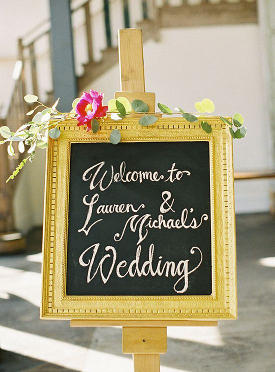 10 Ways To Use Chalkboard Wedding Decor In Your