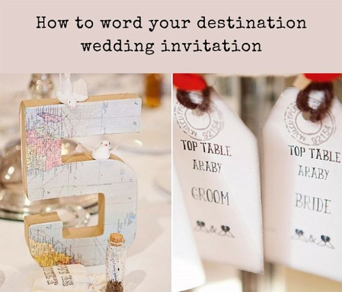 Destination Wedding Invitation Wording Weddings Abroad Guide
