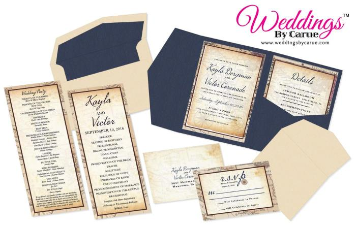 Five Unique Wedding Invitations That Will Make You Say I Do