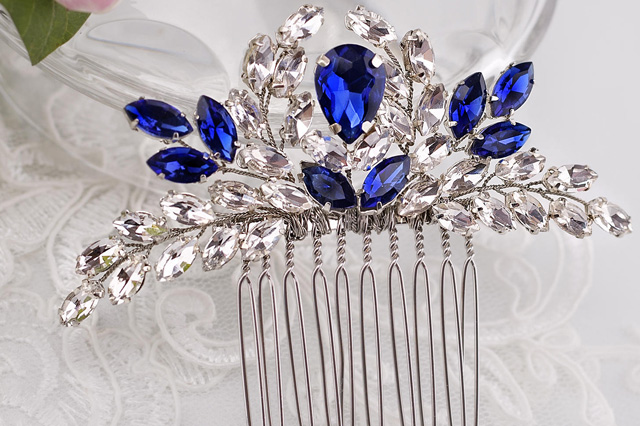 sapphire style hair comb