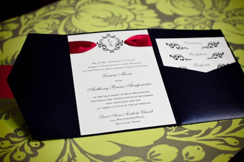 Wedding Stationery Isabella Invitations