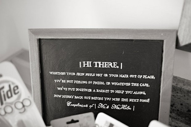 wedding bathroom baskets poems | shoe800