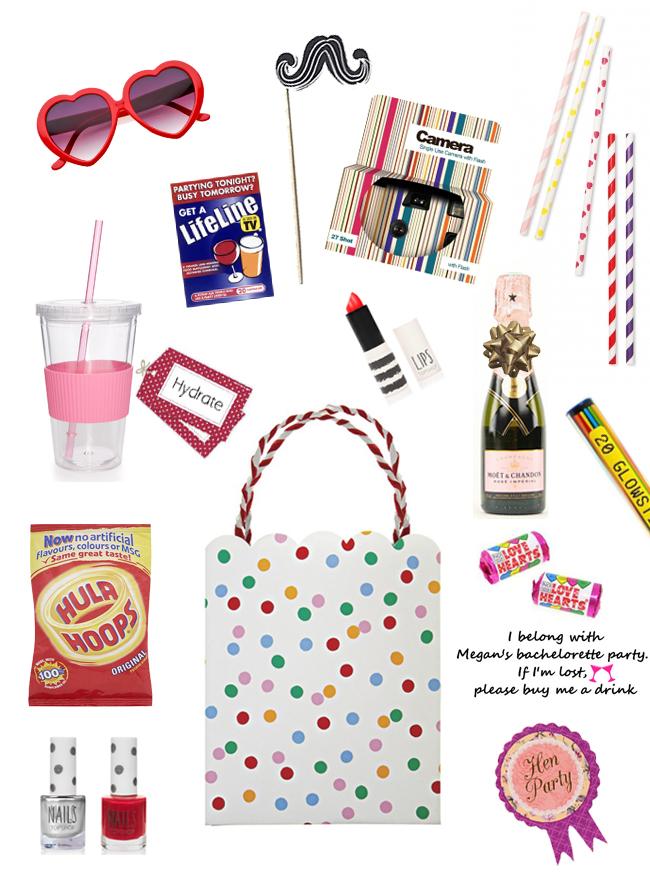 Hen Party Survival Kit Ideas Weddingsonline