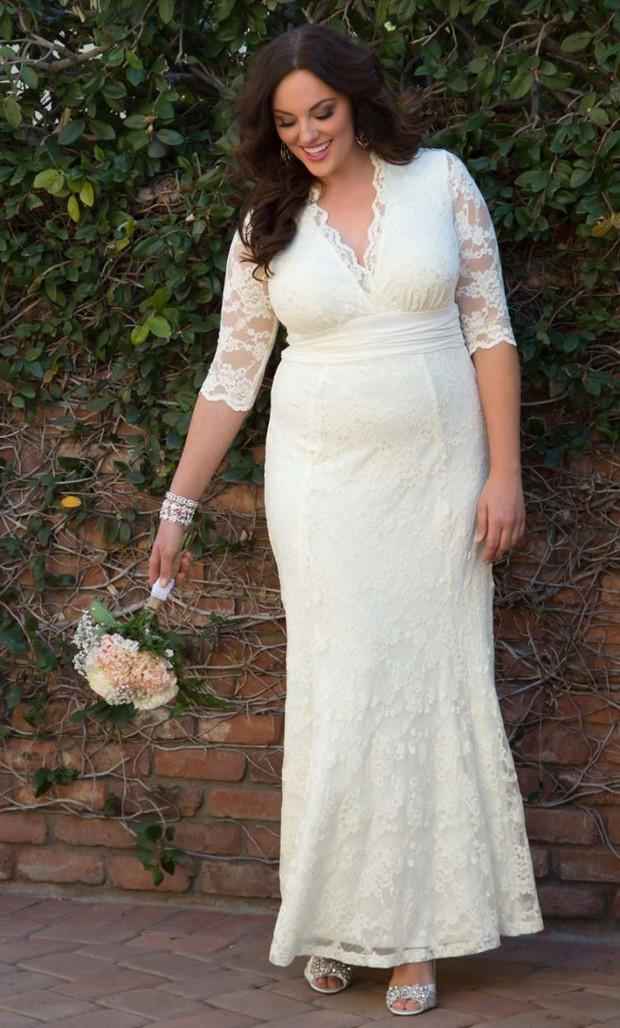 Size 20 Wedding Dresses. applique v neck wedding dress ...