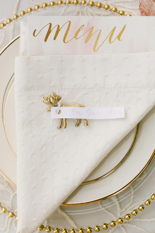 animal estatuilla-topónimo-tarjeta de la boda