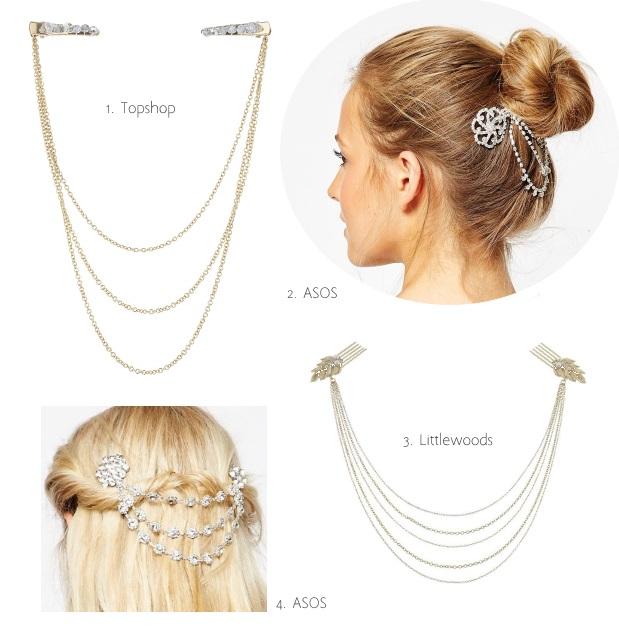 No 1 Jenny Packham Designer Silver Gem Floral Headband