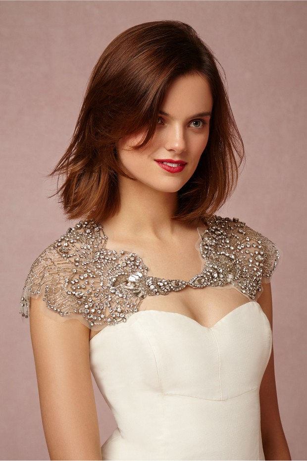 Stunning Shoulder Jewellery Amp Bridal Capes For 2016