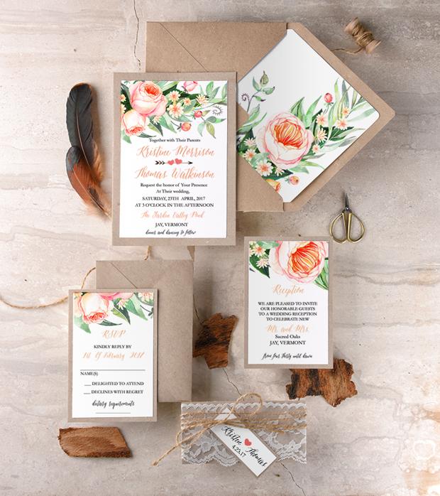38 Gorgeous Wedding Invites To Suit