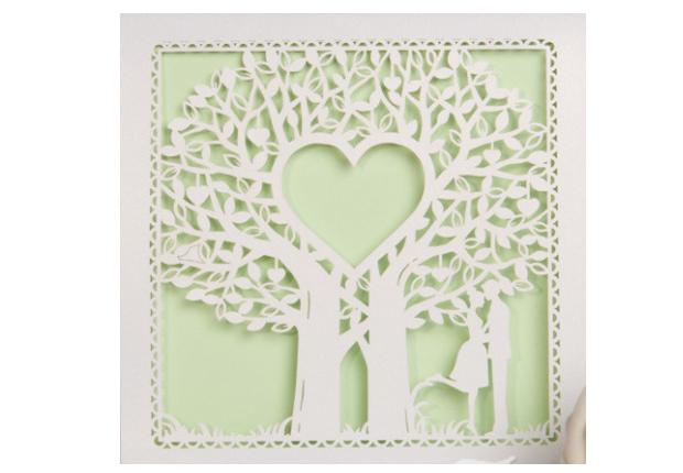 Celtic Couple Design Wedding Invitation