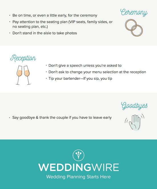 Wedding rules for guests