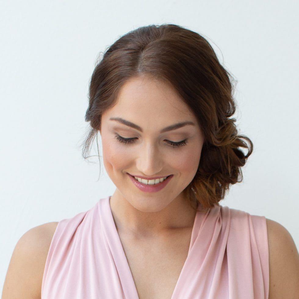 Braut Make Up Und Frisuren Schonheitsfleck