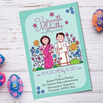 Our 9 Favorite Doodlers for Wedding Invites