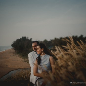 A Pre-wedding Shoot in the Coastal Paradise of Kerala