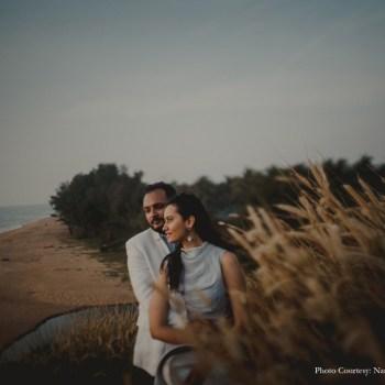 A Pre-wedding Shoot in the Coastal Paradise of Kerala