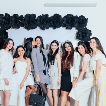 Hanna Khan's uber-chic Chanel Themed Bridal Shower in Mumbai