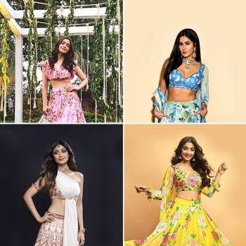 Trend Alert! 15 celebrity-worn printed lehengas to gush over this season