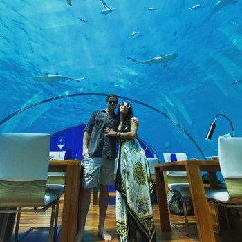 Devika Bhise and Nicholas Gilson, Maldives