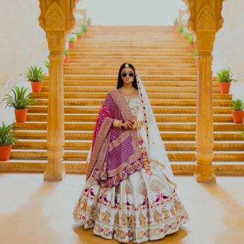 20+ Dupatta drapes to embrace for your bridal look