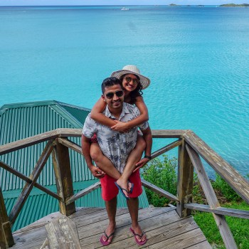 Mitali and Rahul, Antigua