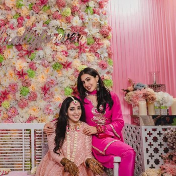 Actress Bindiya Goswami and Filmmaker JP Dutta host daughter's pre-engagement celebration at home