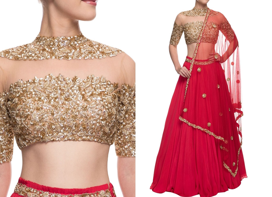 20 Lehengas For Brides who do not want a Sabyasachi