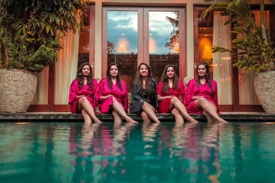 Sonal's Bachelorette Party in Bali