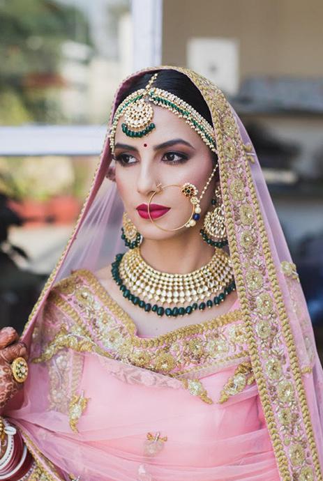 Types Of Bridal Makeup