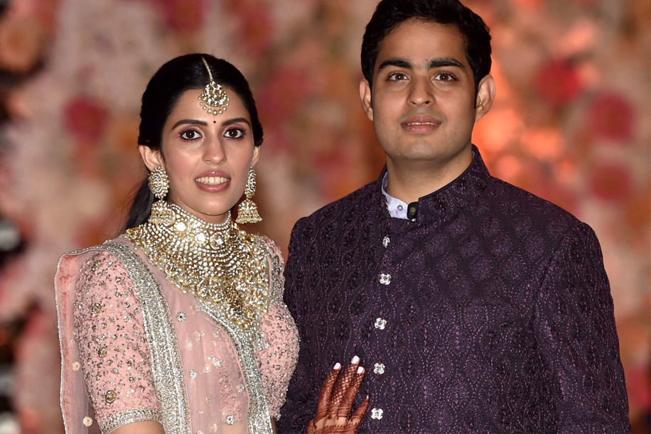 Akash Ambani and Shloka Mehta, Mumbai