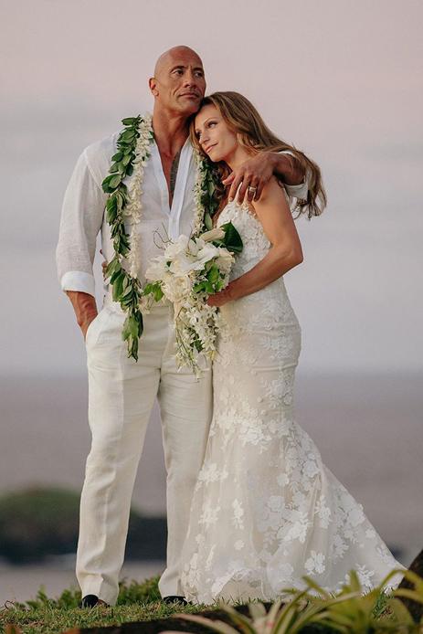 Dwayne Johnson and Lauren Hashian, Hawaii