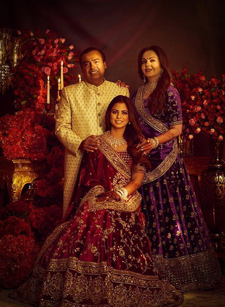 Isha Ambani and Anand Piramal