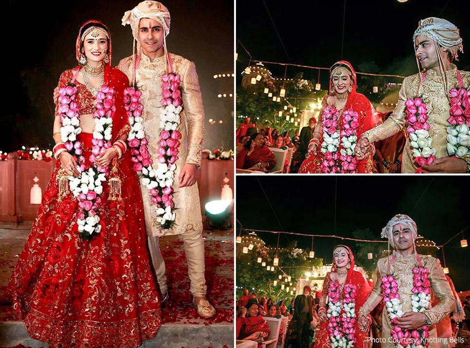 Pankhuri Awasthy and Gautam Rode, Ajmer, Rajasthan