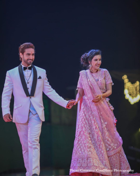 Sheena Bajaj and Rohit Purohit, Jaipur