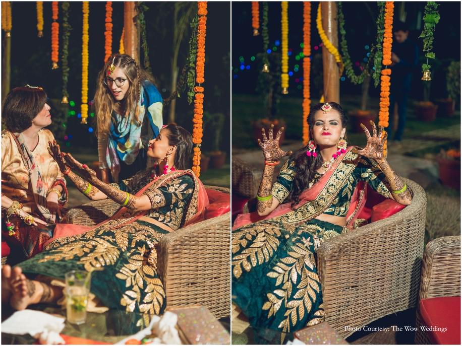 Anjali and Kyle, Hilton Garden Inn Gurgaon