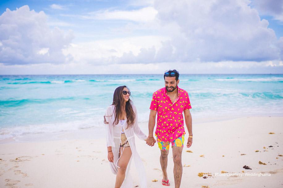 Rikin and Dipti, Grand Oasis Cancun, Mexico