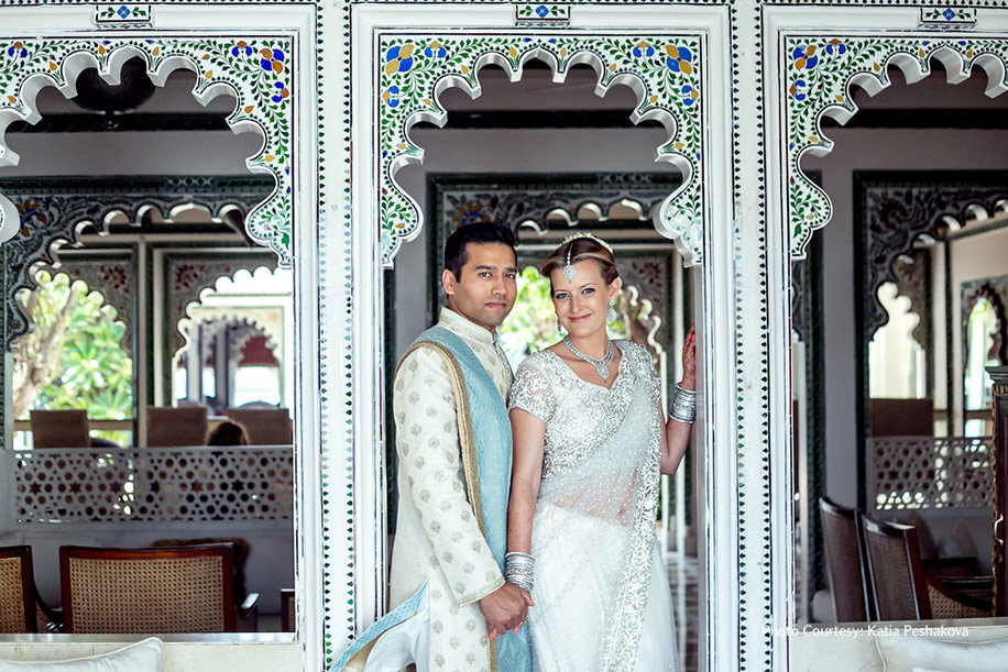 Emma and Anup, Taj Lake Palace, Udaipur
