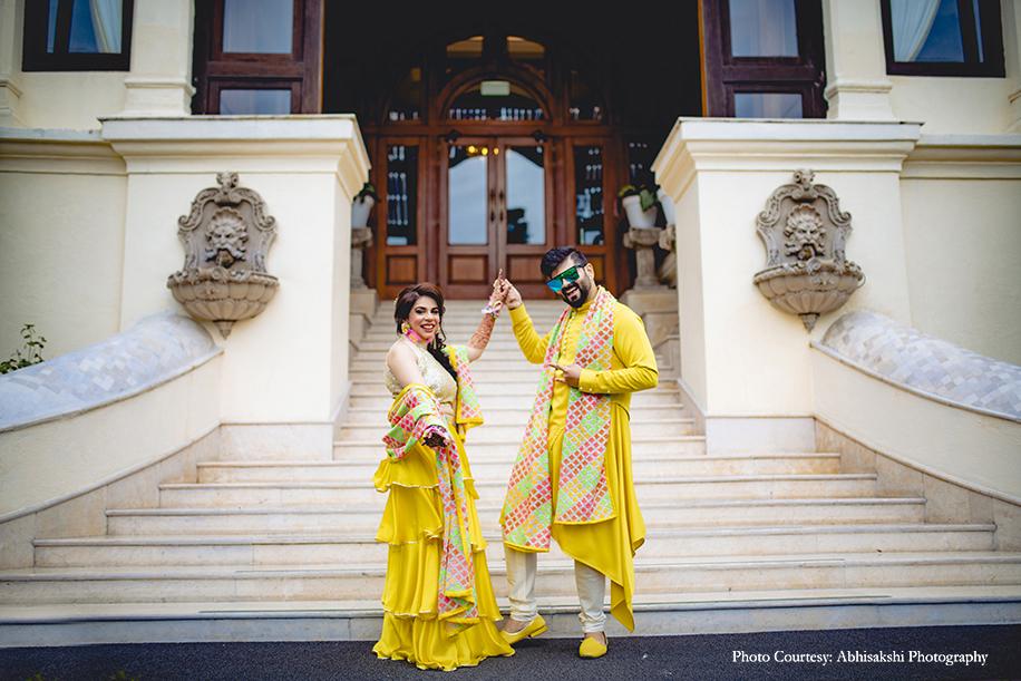 Rakhi & Siddhartha, WelcomHotel The Savoy, Mussoorie