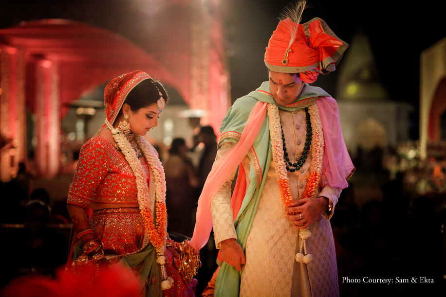 Richa and Rohan, JW Marriott Jaipur Resort & Spa