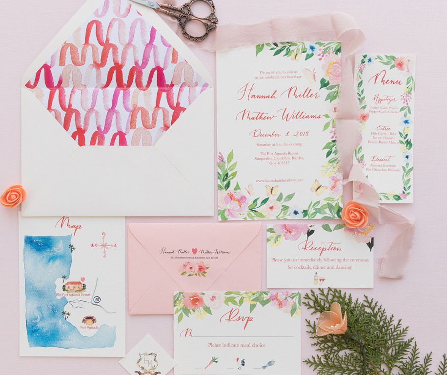Our Favorite Wedding Invitations of June 2018