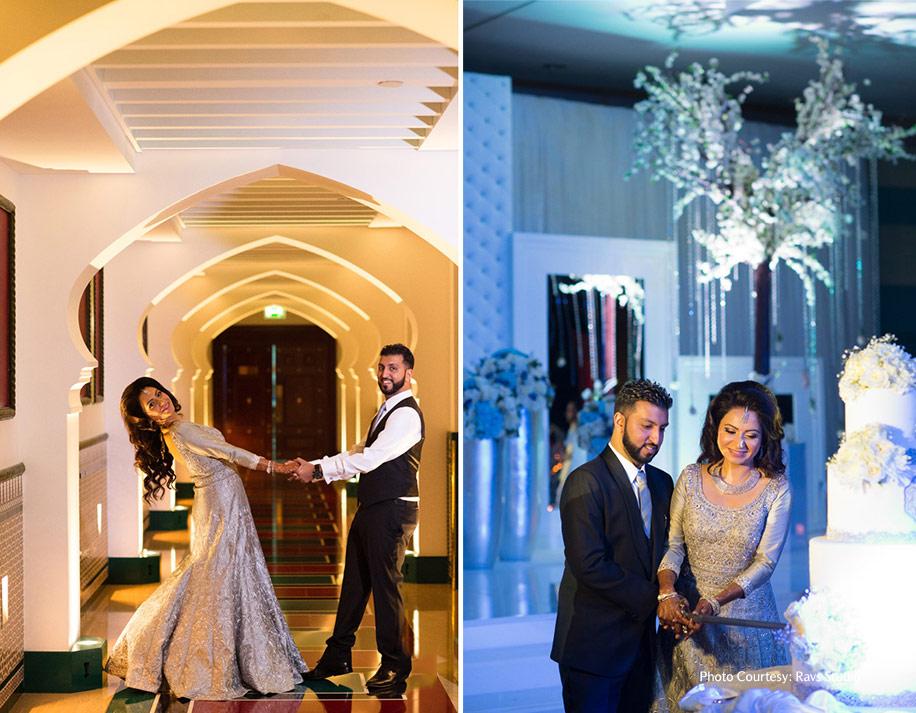 Amyna and Azwan, Jumeirah Beach Hotel, Dubai