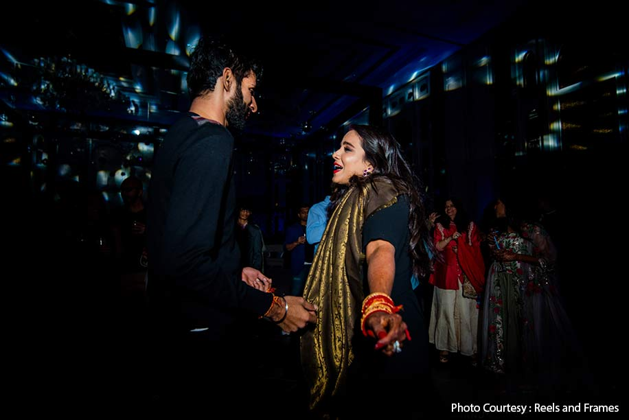 Anisha and Kabir, JW Marriott Jaipur Resort & Spa