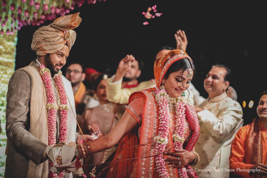 Disha and Yash, Taj Lands End, Mumbai