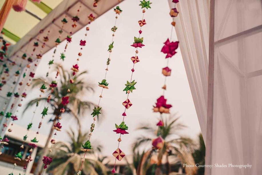 Manopriya and Aakash, InterContinental Chennai Mahabalipuram Resort